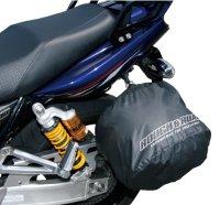 ラフ&ロード★簡易防水 駐車時に雨、粉塵、傷からヘルメットを守ります ポケッタブル ヘルメットカバー