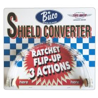BUCO(ブコ)★シールドの開閉を可能にする シールドコンバーター SHIELD CONVERTER クリアー
