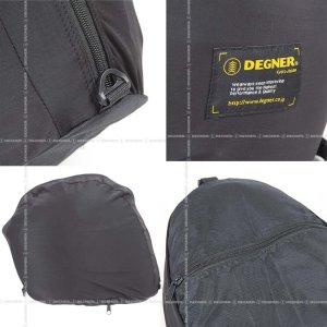 画像2: 【デグナーWEB正規代理店】デグナー(DEGNER)★コンパクトに収納可能 携帯 ヘルメットバッグ/HELMET BAG(ブラック)